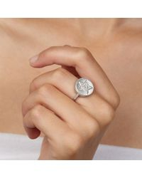 Carolina Bucci | Metallic Lucky Diamonds Health Ring | Lyst