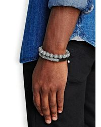 Nialaya | Black Stingray Bracelet for Men | Lyst