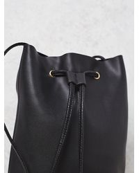 Free People | Black Womens Babylon Bucket Bag | Lyst