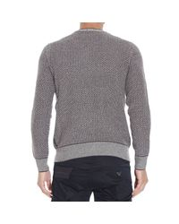 Armani Jeans - Brown Sweater for Men - Lyst