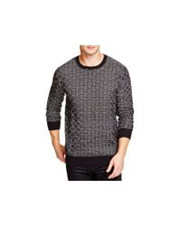 Zanerobe - Black Hash Knit Sweater for Men - Lyst
