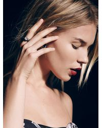 Free People | White Atilius Opal Ring | Lyst