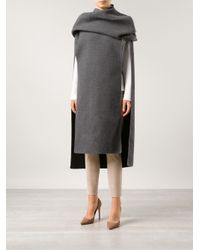 Calvin Klein - Gray 'Warrick' Coat - Lyst