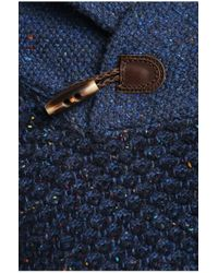 BOSS Orange | Blue 'ardon' | Virgin Wool Blend Shawl Collar Sweater for Men | Lyst