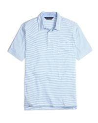 Brooks Brothers | Blue Slim Fit Stripe Polo Shirt for Men | Lyst