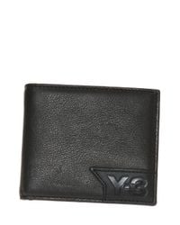 Y-3 - Black Bifold Wallet for Men - Lyst