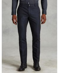 John Varvatos | Blue Cotton Motor City Jean for Men | Lyst