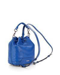 Rebecca Minkoff   Blue Fiona Backpack   Lyst