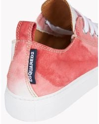 DSquared² - Red Basquettes Sneakers for Men - Lyst
