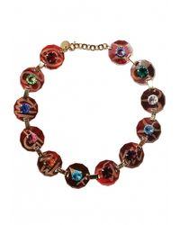 Matthew Williamson | Metallic Zodiac Charm Necklace | Lyst