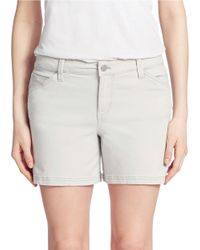 Calvin Klein Jeans | Gray Five Pocket Shorts | Lyst