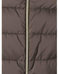 Herno - Brown Optional-Sleeve Padded Jacket - Lyst