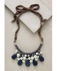 Anthropologie - Blue Sensoria Bib Necklace - Lyst
