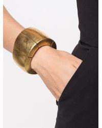 Monies - Metallic Sectional Bracelet - Lyst