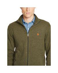Polo Ralph Lauren - Green French-rib Full-zip Jacket for Men - Lyst
