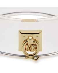 McQ | White Plexi Q Cuff Bracelet | Lyst