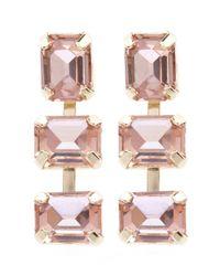 Coast | Pink Peach Earrings | Lyst