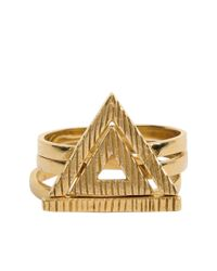 Cleobella | Metallic Valor Ring Set | Lyst