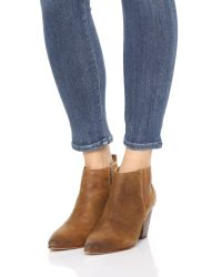 Belle By Sigerson Morrison - Natural Young Booties - Lyst