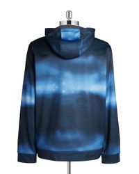Calvin Klein | Blue Performance Hoodie for Men | Lyst