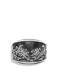 David Yurman | Metallic Waves Three-Sided Ring for Men | Lyst