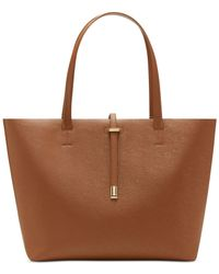 Vince Camuto | Metallic Leila Large Tote | Lyst