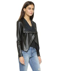 BB Dakota | Black Brody Drapey Jacket | Lyst