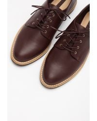 Forever 21 - Purple Faux Leather Oxfords - Lyst