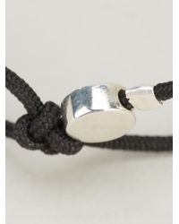 Helena Rohner | Black String Bracelet | Lyst