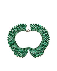 Masterpeace | Green Malachite Bead Czar Collar Necklace | Lyst