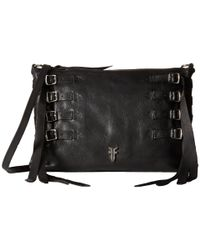 Frye | Black Selena Strappy Crossbody | Lyst