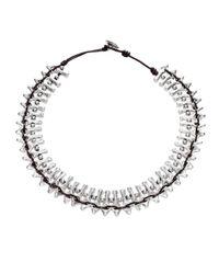 Uno De 50   Metallic Mandala Necklace   Lyst