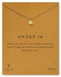 Dogeared - Metallic Sweet 16 Necklace 18 - Lyst
