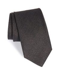 John W. Nordstrom | Brown 'vincent' Solid Silk Tie for Men | Lyst