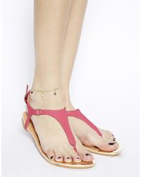 ASOS - Multicolor Sweet Bead Anklet - Lyst
