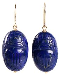 Aurelie Bidermann | Blue 'scarabs' Earrings | Lyst