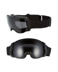 Smith Optics - Black 'i/o 7' 200mm Snow Goggles for Men - Lyst