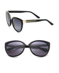 Jimmy Choo | Black Danas 56mm Modified Cat's-eye Sunglasses | Lyst