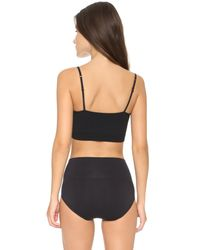 Yummie By Heather Thomson | Black Audrey Seamless Day Bra | Lyst