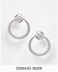 Pieces | Metallic & Julie Sandlau Sterling Silver Jay Snake Stud Earrings | Lyst