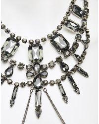 ASOS - Metallic Gothic Princess Body Harness - Lyst