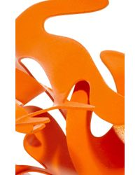 Rosie Assoulin - Roxanne Assoulin For Neon Orange Small Sculptural Ring - Lyst