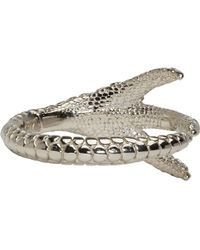 Givenchy - Metallic Silver Rooster Leg Ring - Lyst