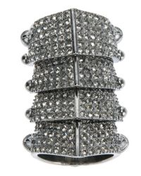 Vivienne Westwood - Metallic 'finger Wrap' Ring - Lyst