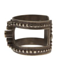 Beth Orduna - Metallic Studded Cuff - Lyst