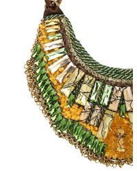 Sveva Collection - Green Siviglia Necklace - Lyst