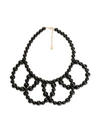 Trina Turk | Black 'legendary Summer' Plated Enamel Necklace | Lyst