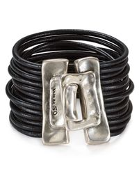 Uno De 50 | Metallic Close Me Bracelet | Lyst