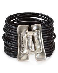 Uno De 50 - Metallic Close Me Bracelet - Lyst