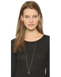 Jennifer Zeuner | Metallic Gabriella Necklace - Gold | Lyst